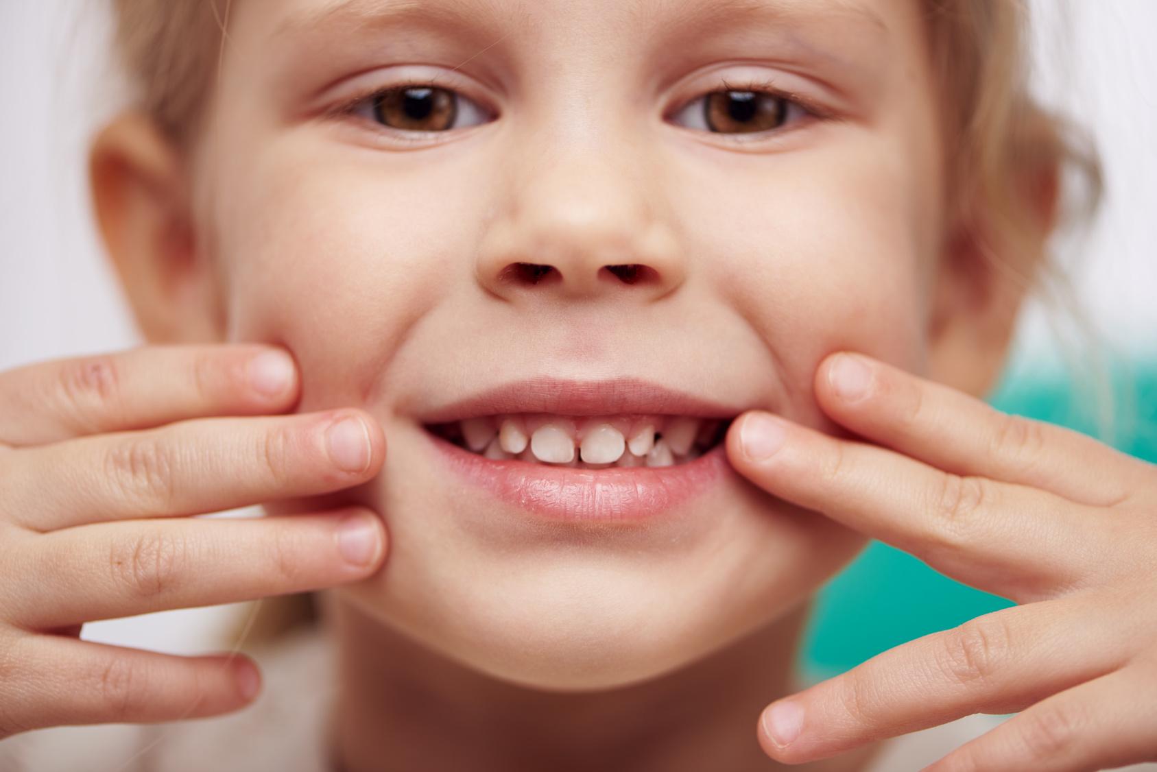 Зубы у детей в 4 года фото