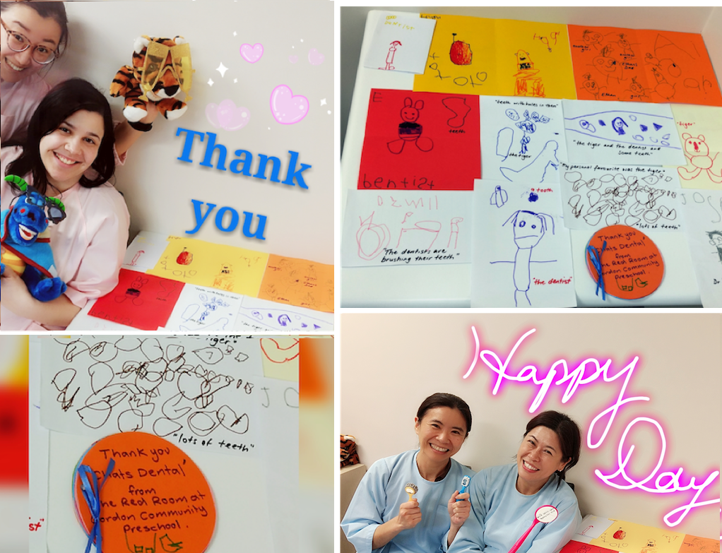 2018 Chats Dental Puppet Show – Thanks from Lovely Students!