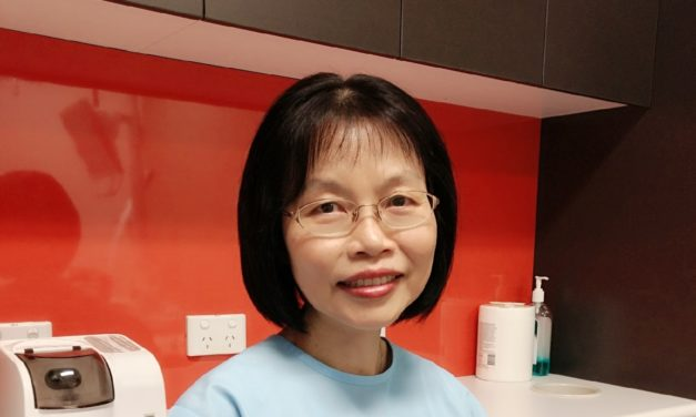 Welcoming on board, Dr. Becky Chan!